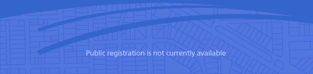Public Registration is not currently available